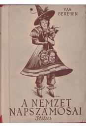 A nemzet napszámosai - Vas Gereben - Régikönyvek