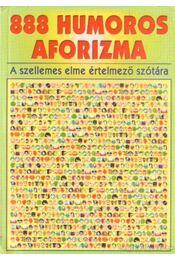 888 humoros aforizma - Vas Zoltán - Régikönyvek