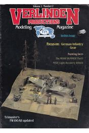 Verlinden Productions Modeling Magazine Volume 1 Number 2 - Francois Verlinden - Régikönyvek