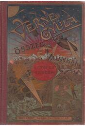 Antifer Mester csodálatos kalandjai I-II. kötet (bordó) - Verne Gyula - Régikönyvek