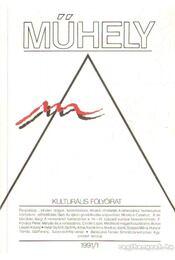 Műhely 1991. XIV. évf. (hiányos) - Villányi László - Régikönyvek
