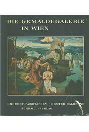 Die Gemäldegalerie in Wien I-II. - Vinzenz Oberhammer - Régikönyvek