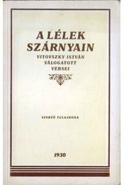A lélek szárnyain - Vitovszky István - Régikönyvek