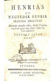 Henriás - Régikönyvek