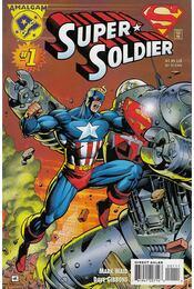Super-Soldier 1. - Waid, Mark, Gibbons, Dave - Régikönyvek