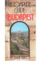 Budapest - A Complete Guide - Wellner István - Régikönyvek