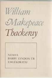 Nemes Barry Lyndon úr emlékiratai - William Makepeace Thackeray - Régikönyvek