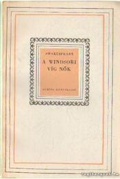 A windsori víg nők - William Shakespeare - Régikönyvek