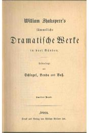 William Shakspere's sämmtliche Dramatische Werke II. - William Shakespeare - Régikönyvek