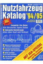 Nutzfahrzeug Katalog '94/95. - Willms, Oliver (szerk.) - Régikönyvek
