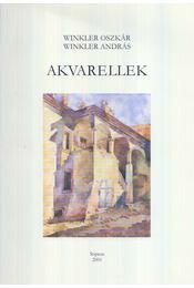 Akvarellek - Winkler Oszkár, Winkler András - Régikönyvek