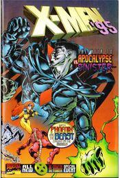 X-Men '95 Vol. 1 No. 1 - DeMatteis, J. M., Macchio, Ralph, Dodson, Terry, Leon, John Paul - Régikönyvek