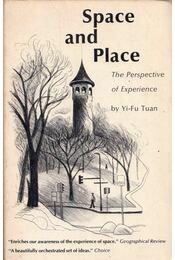 Space and Place: The Perspective of Experience - Yi-Fu Tuan - Régikönyvek