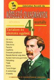 Kötelező olvasmányok röviden 4. osztály - Zobolyákné Horváth Ida - Régikönyvek