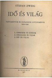 Idő és világ - Zweig, Stefan - Régikönyvek